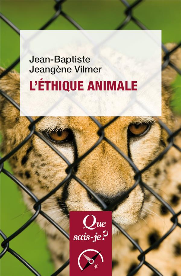 L'ETHIQUE ANIMALE 3EMEEDITION  N 3902
